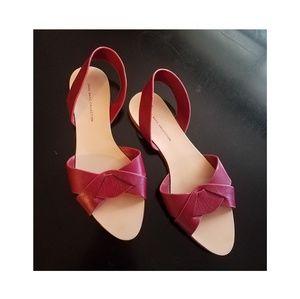 Zara slip on sandals